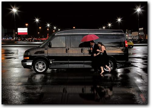 Houston Texas GMC Savana Van Conversions Explorer Luxury Vans